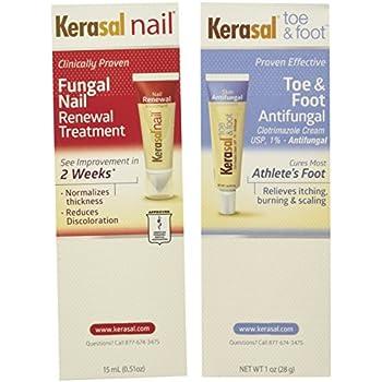 Amazon Com Kerasal Fungal Nail Treat Size 33z Kerasal Fungal Nail