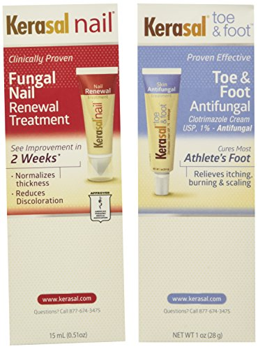 Kerasal complete care 2 in 1 nail toe & foot Anti - Fungal treatment cream