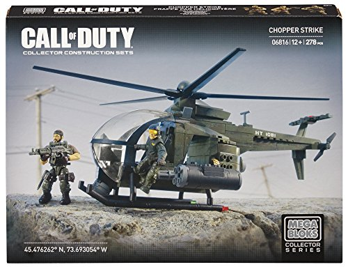 Mega Bloks Call of Duty Chopper Strike, Model 06816, 278 Piece (Discontinued by ()