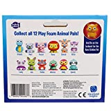 Educational Insights Playfoam Pals Wild Animals 6-Pack Surprise Egg with Hidden, Multicolor