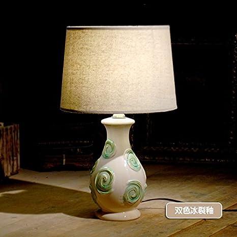 Manualidades decoracion clasica lampara de ceramica ceramica ...