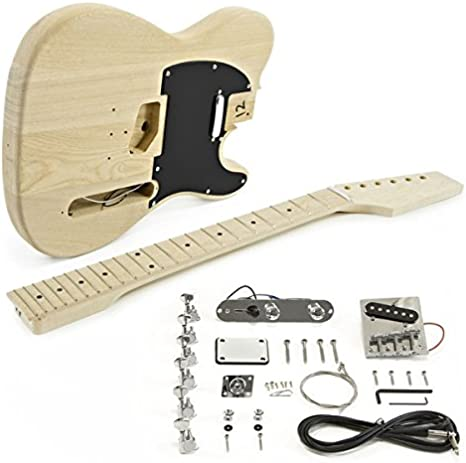 Kit de Bricolaje de Guitarra Electrica Knoxville - Cuerpo de ...