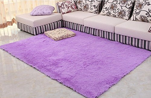 80*160 carpet sofa coffee table large floor mats doormat tapetes de sala doormat rugs and carpets alfombras area rug Color:Purple