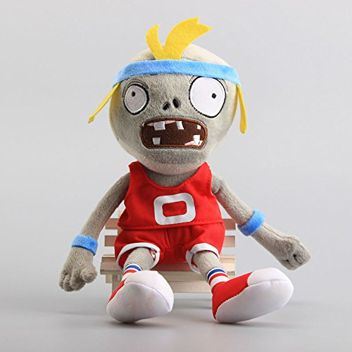 Pirate Zombie Red 12 Inch Toddler Stuffed Plush Kids Toys PVZ by kidsheaven (Ds Vs Plants Zombies)