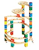 Award Winning Hape Quadrilla Wooden Marble Run Construction - The Cyclone