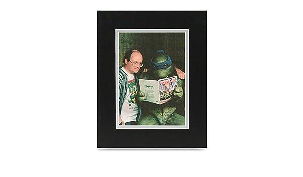 Peter Laird firmada 10 X 8 foto Pantalla Tortugas Ninja ...