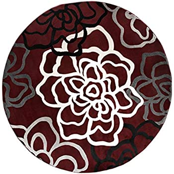 Amazon Com Rugshop Contemporary Modern Floral Flowers