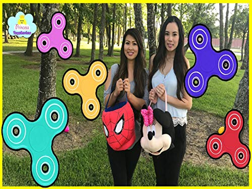 Clip: Fidget Spinner Surprise Challenge - Spinner Toy Tricks and Egg Hunt]()