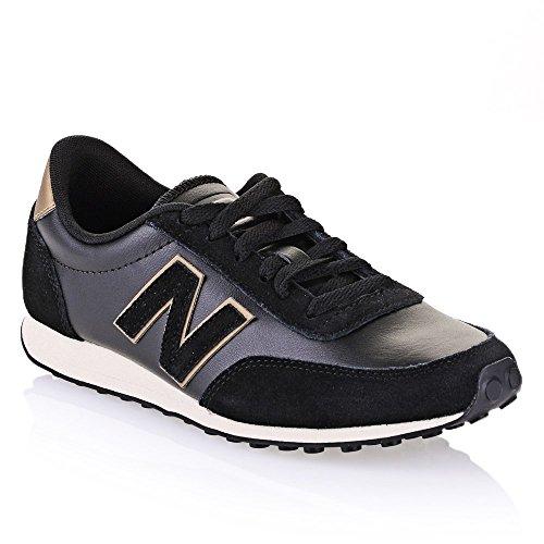 New Balance U410 D Unisex-Erwachsene Sneaker - Beige-Noir