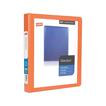 "Amazon.com: 1"" grapas estándar View – Archivador con ..."