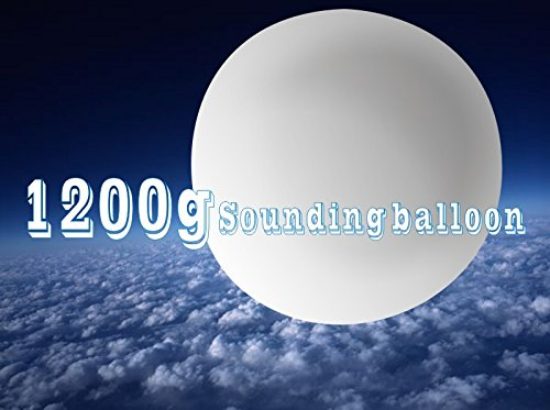 1200g weather meteorological near space sounding radiosonde high altitude balloon by SSTL Meteorological Balloon Supply