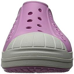 crocs Bump It Shoe Slip-On Shoe (Toddler/Little Kid), Carnation/Oyster, 9 M US Toddler