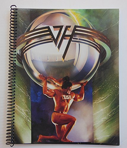 Van Halen 75 page Spiral Notebook (5150) Handmade using the original record album cover