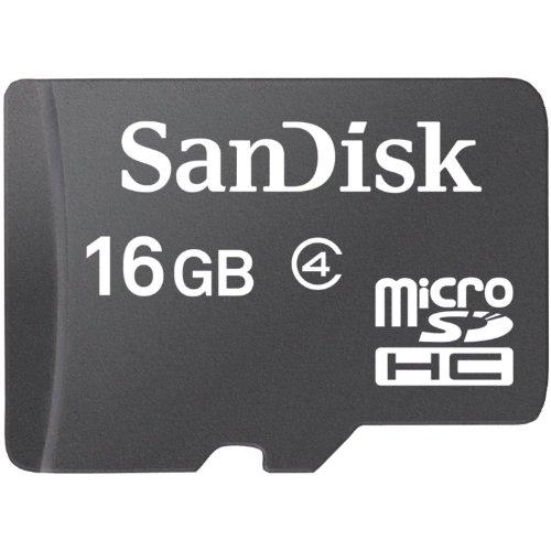 micro sd card 16gb adapter - 1