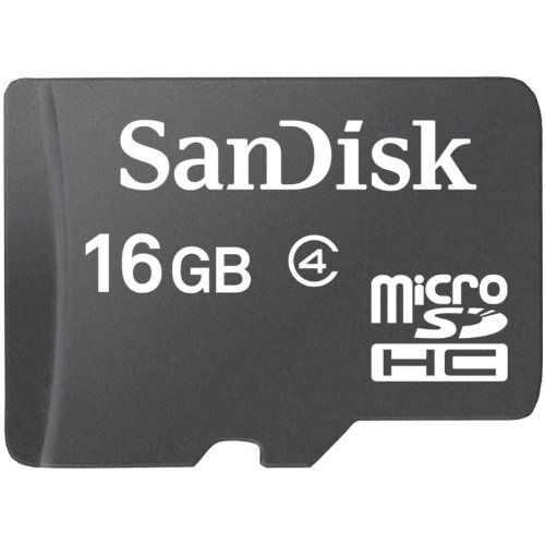 16GB Sandisk microSD Memory Adapter