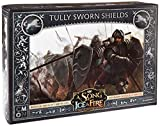CMON Unknown A Song of Ice & Fire Miniatures Game: Tully Sworn Shields