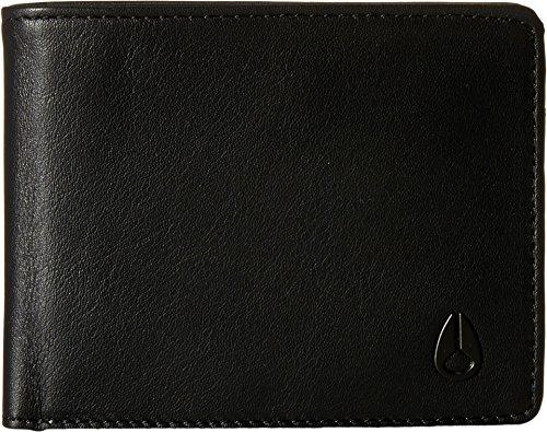 Nixon Men's Cape Bifold Wallet, All Black, One Size ()