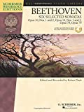 Beethoven - Six Selected Sonatas: Opus 10, Nos. 1 and 2, Opus 14, Nos. 1 and 2, Opus 78, Opus 79 (Hal Leonard Piano Library: Schirmer Performance Editions)