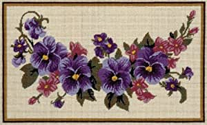 Anchor - Lienzo para creación de tapiz, diseño de guirnalda de flores, multicolor