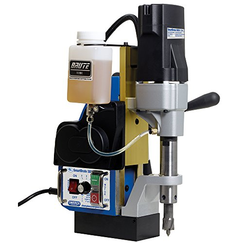 Champion Cutting Tool SB35 Powerful and Portable RotoBrute Smart Brute AutoMatic Magnetic Drill Press by Champion Cutting Tool Corp