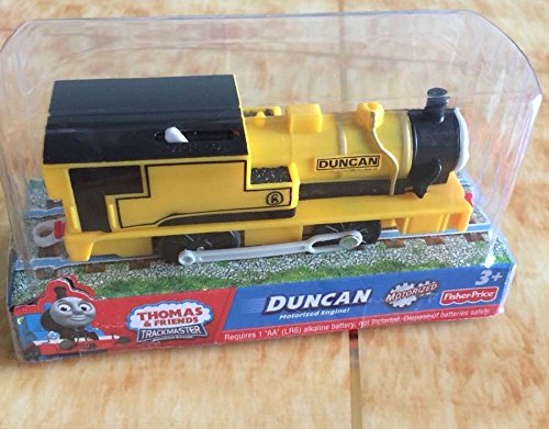 [New Boxed Thomas & friend trackmaster battery train railway engine train DUNCAN] (Trevor Halloween Costume)