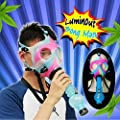 Niceou Fashionable Mask Defense Mask Decoration Entertainment Adult Luminous Cool from Niceou