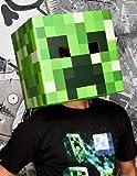 Minecraft Creeper Head Cardboard Costume Mask
