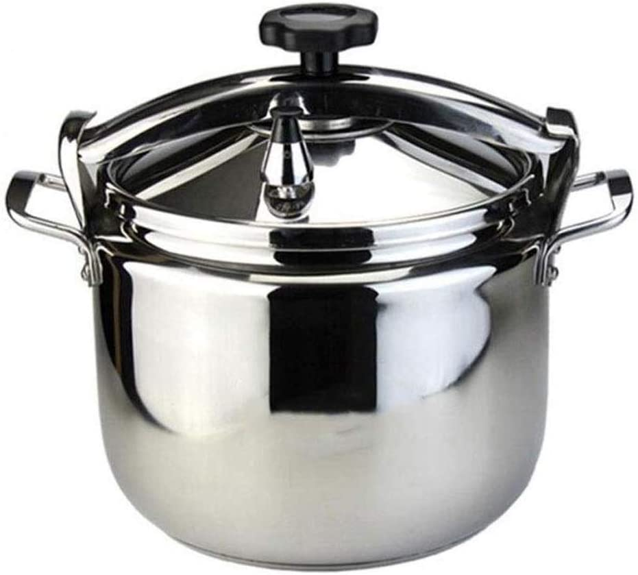 Stainless Steel Pressure Cooker Pressure Cooker Commercial Deepening Large Capacity Explosion-proof Pressure Cooker (Size : 22L)