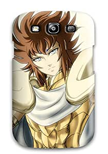 Galaxy Cover Case - Aries Kiki Gold Saint Fan Art Protective Case Compatibel With Galaxy S3