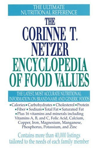 The Corinne T. Netzer Encyclopedia of Food Values (Nutrition Value Of Foods)