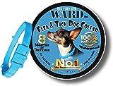 Dog Flea Treatment Collar - Flea Collar For Dogs + Cats - Flea And Tick Control Hypoallergenic tick collar - Adjustable One-Size-Fits-All Tick Prevention Flea Treatment for Dogs with All Natural Essential Oils Medicine 8 Months