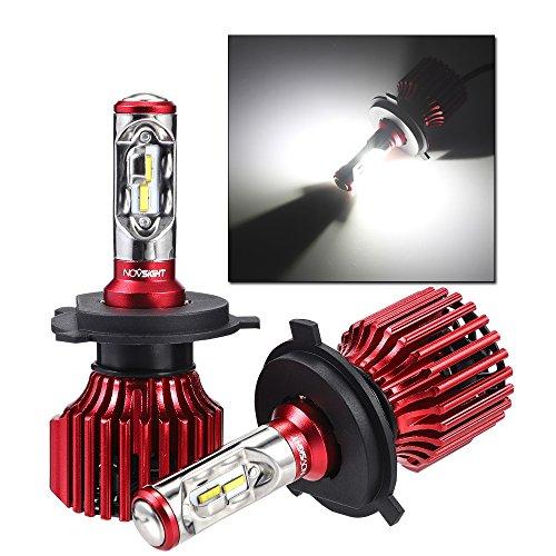 NOVSIGHT H4 LED Headlight Bulbs All-in-One Conversion Kit Hi&Lo Beam 6500K...