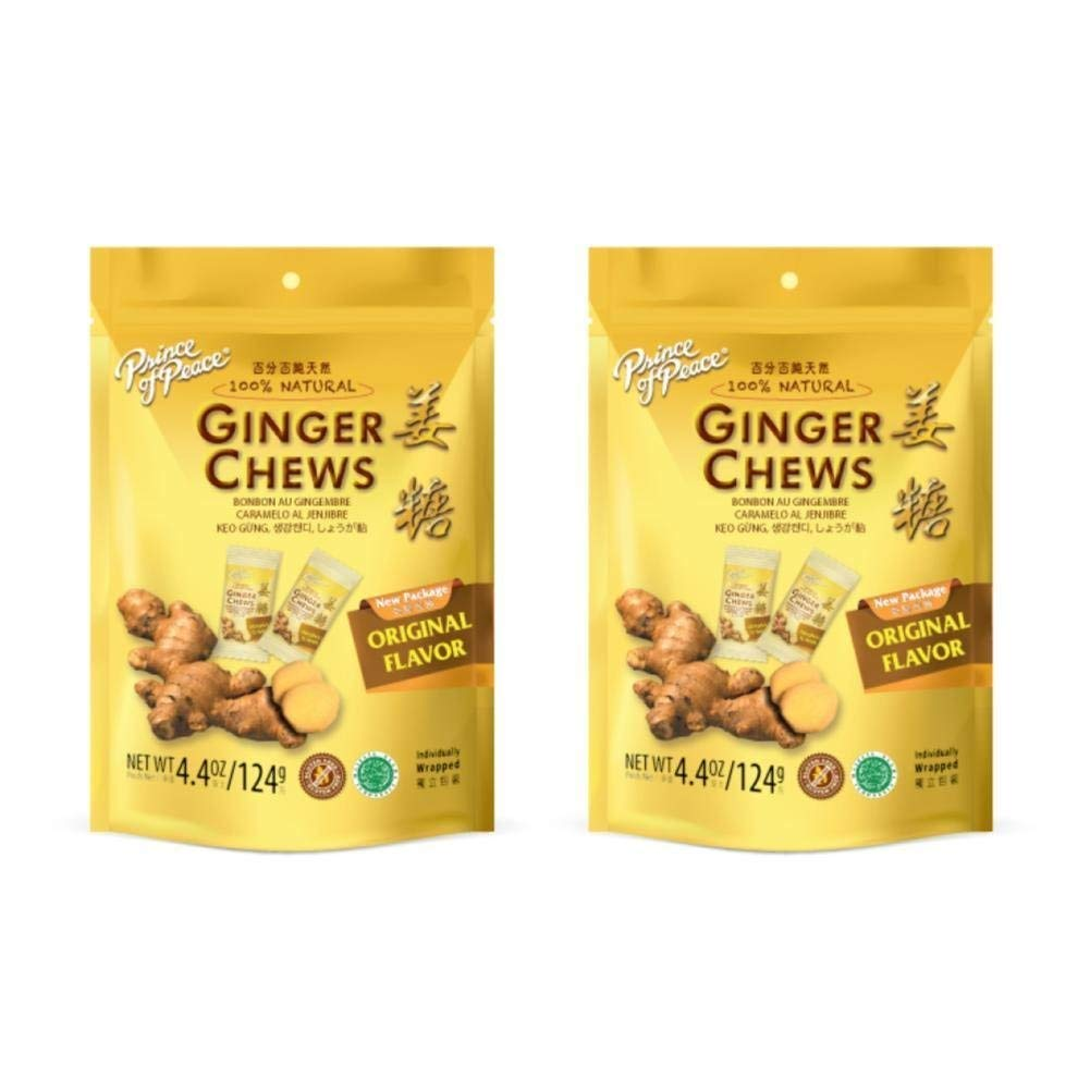 Prince of Peace Ginger Candy 4.4 oz. - PACK OF 4