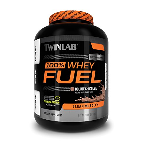 Cheap Twinlab 100% Whey Fuel Nutritional Shake, Double Chocolate, 5 Pound