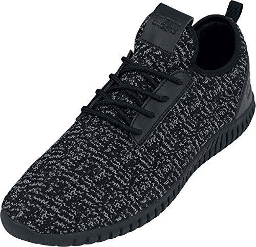 Scarpa Luminoso Urban Runner Classics A Sneaker Nere Lavorato Maglia dxoWEBrCQe
