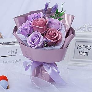 minjiSF Artificial Rose Flowers Wedding Bouquet Best Gifts Ideas 69