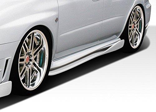 C-Speed 2 Side Skirts Rocker Panel Add ons - 2 Piece Body Kit - Fits Subaru Impreza 2002-2007