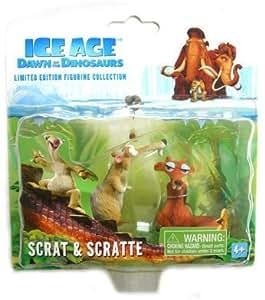 Ice Age 3amanecer de los dinosaurios Scrat y Scratte cifras