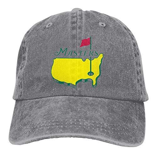 Masters Tournament Augusta National Golf Cowboy Hat Trucker Hat Denim Adult Baseball Cap ()