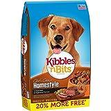 Kibbles 'N Bits Homestyle Grilled Beef & Vegetable Flavors Bonus Bag Dry Dog Food, 4.2 Lb