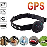 GPS Tracker,Waterproof Tracking Device Built-in Magnetism with 500Ma Battery Long Standby for Kids