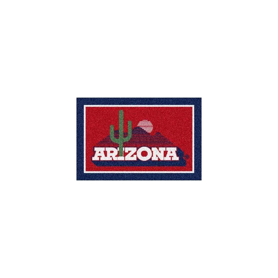 Arizona Wildcats Desert Scene 5 x 8 Team Door Mat