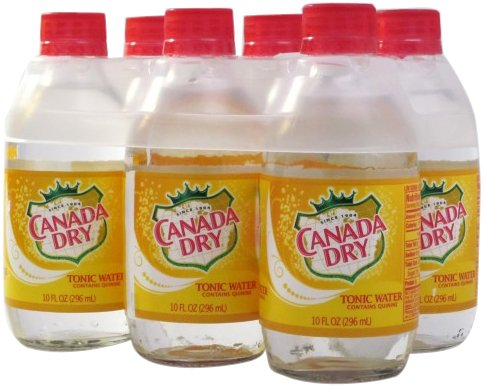 Canada Dry Tonic Water (7 UP Canada Dry Tonic Water, 10-Ounce (Pack of 24))