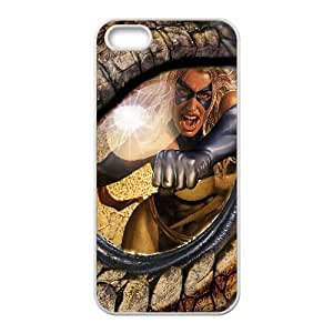 Ms Marvel Comic0 iPhone5s Cell Phone Case White yyfabc_204877
