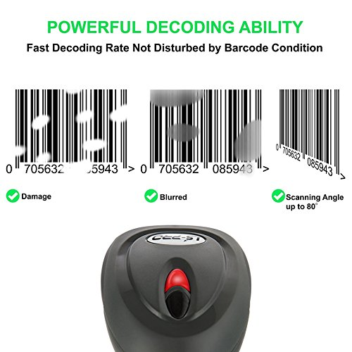Ls Pro Wireless Barcode Scanner With Usb Cradle Receiver