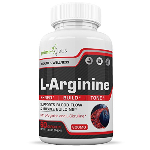 Extra Strength L Arginine Muscle Builder to Build Muscle Fast with Nitric Oxide, Pre Workout Supplement to Enhance & Boost Endurance, Strength & Energy, Powerful Muscle Pumps - 60 Capsules by Better Mornings