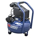 Campbell Hausfeld Air Compressor, Electric 6-Gallon Pancake Oilless 2.5CFM 0.8HP 120V 7A 1PH (HM750000AV) Review