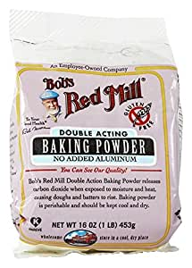 Bob's Red Mill Double Acting Aluminum Free Baking Powder 16 oz