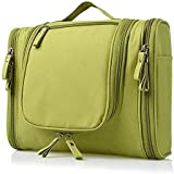 DSML Multifunctional Travel Toiletry Bag Extra Large Makeup Organiser Cosmetic Case Household Grooming Kit Storage Travel Kit Pack with Hook (Multicolor)