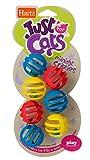 Hartz Just For Cats Midnight Crazies Cat Toy Balls - Assorted
